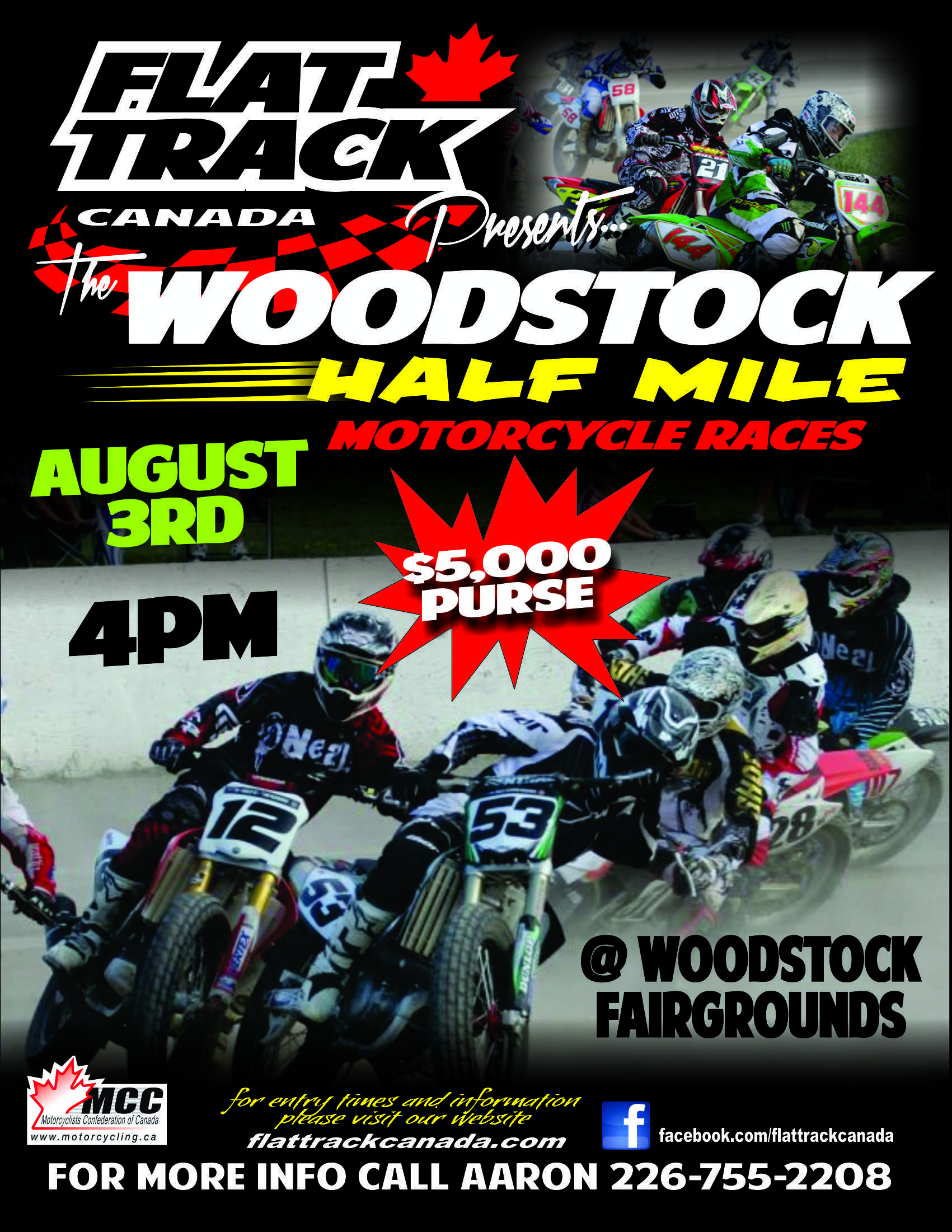 flattrack-woodstock-flyer