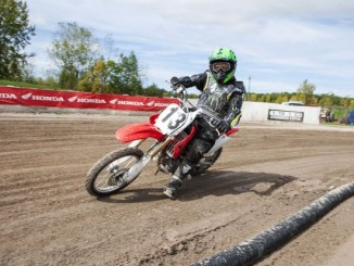 Honda Flat Track School and CRF Intro, Jacob Black